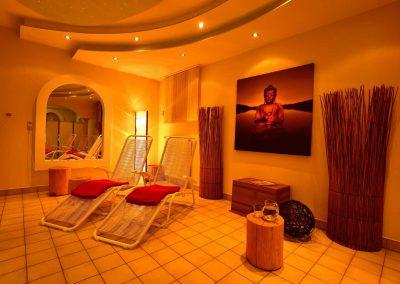 Entspannung nach der Sauna