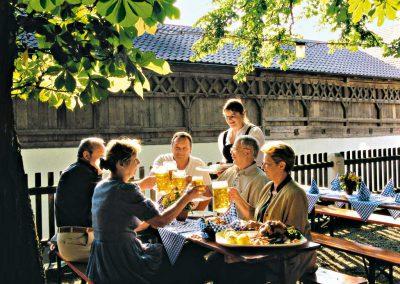 Bad Birnbach - Biergarten Wasner