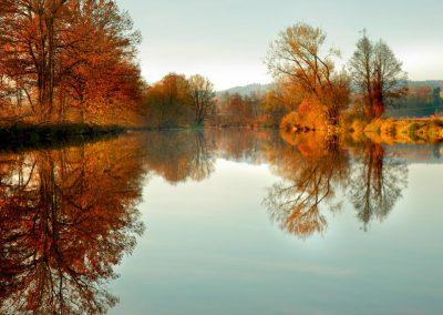Bayerbach - Rott im Herbst