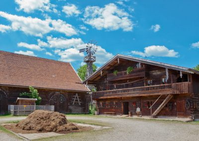 Freilichtmuseum Massing nähe Bad Birnbach - Der Kochhof