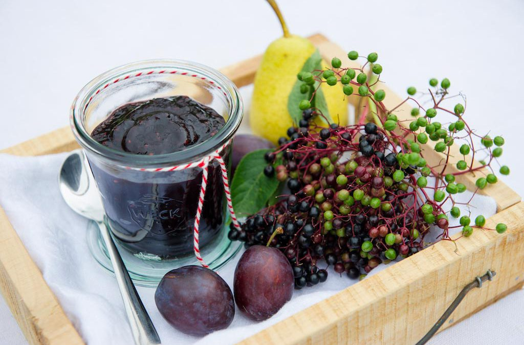 Holunder-Zwetschgen-Marmelade