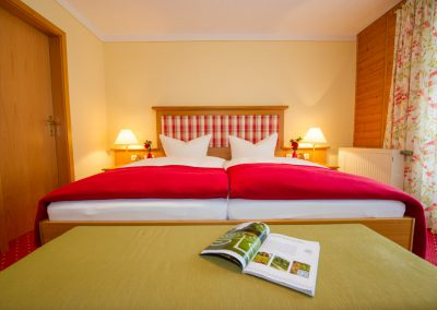 Suite mit getrenntem Wohn- und Schlafraum