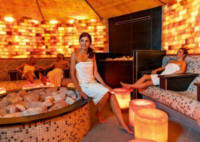Salzsteingrotte Saunawelt
