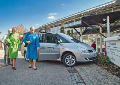Bad Birnbach - Der Bademantel-Express im ländlichen Bad