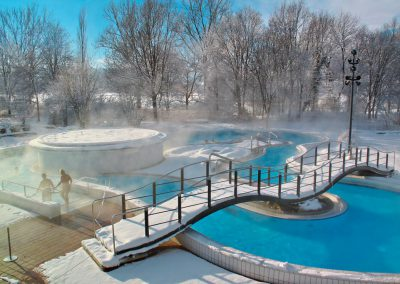 Rottal Terme - Thermenbach Winter