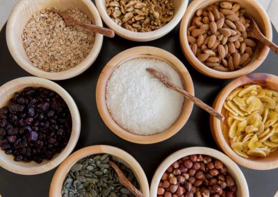 BIO-Genussecke mit Nüssen, Samen und Körner