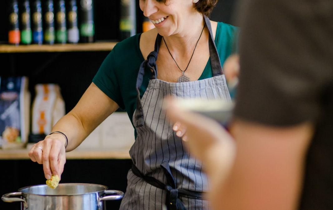 """Vorschau – Kochseminar  """"Iss Dich g´sund mit Peace Food"""""""