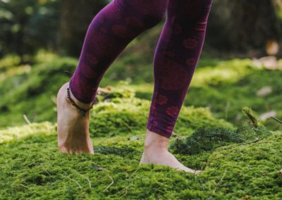 Waldbaden und Yoga in Bad Birnbach